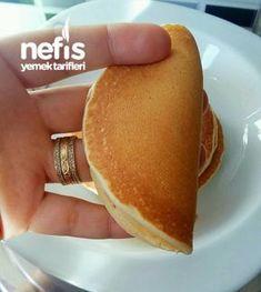 Gorgeous Golden Pancake – Delicious Recipes – About Healthy Desserts Beignets, Perfect Pancake Recipe, Sin Gluten, Pancakes, Turkish Recipes, Desert Recipes, Popular Recipes, Healthy Desserts, Yummy Cakes
