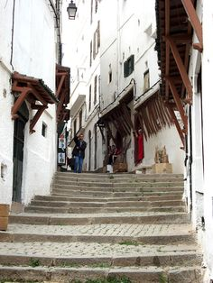 Casbah stairs