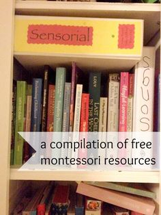 a compilation of free montessori resources | montessori works