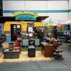 #Repost image by @seattlemanny  My first time ay the Georgetown Trailer Park Mall. Fun and full of surprises!  #seattle #georgetown #georgetowntrailerpark #trailerparkmall #PNW  #traveler #travelandleasure #mall #antiques by seattlemet