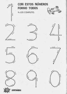 Archivo de álbumes Printable Preschool Worksheets, Kindergarten Math Worksheets, Alphabet Worksheets, Tracing Worksheets, Preschool Kindergarten, Numbers Preschool, Preschool Writing, Preschool Learning Activities, Math For Kids