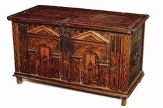 16th century Nonsuch chest