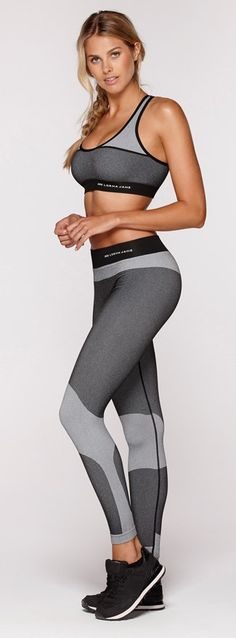 Get the ultimate seamless feel with the matching Cadance Active Seamless Tights Bra and Sport Legging, for your next regular workout session! http://www.fitnessathome.co/Cadance-Active-Seamless-Bra