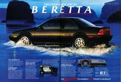 Chevy Beretta  First car I bought brand new- 1994 black