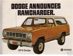 Magnet Man Cave Room Tool Box 1978 Dodge Ramcharger SE 4x4  Refrigerator