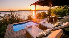 The Old Drift Lodge (priced from USD is a new, exclusive and unique lodge found in Victoria Falls close to the main town and the Zambezi area. Honeymoon Special, Outdoor Baths, Victoria Falls, Luxury Accommodation, Travel Tours, African Safari, Africa Travel, Zimbabwe, National Parks