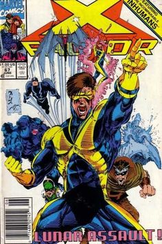 X-Factor cover by Whilce Portacio - featuring the Inhumans