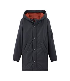 Sibérie parka - Dark navy blue - Men's parka / Men's coat - A.P.C. ready-to-wear