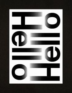 Hello Hello – A3 Studio compliment card on Behance