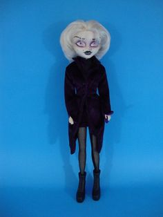 "Custom Monster High Bratz 12"" Gothic Doll #Mattel"