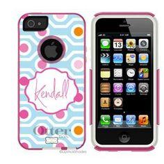 | *NEW iPhone 5 Monogram Otterbox | Monogrammed OtterBox® Iphone 5 Case | Lipstick Shades