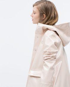 Image 5 of RAINCOAT from Zara