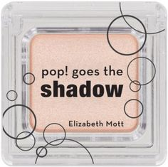 The Elizabeth Mott pop! goes the eyeshadow is the ultimate eyeshadow that's long lasting, easy to apply, and effortlessly blends. Buildable colors will take you from subtle highlights to dramatic smokey eyes. With pop! goes the shadow, eye shadow creasing is a thing of the past. Get ready to try the eye shadow that will change your life!  Receive 50% off any product at www.elizabethmott.com. Enter code: IPSYPOP