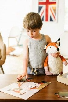 Puzzle with your child's lovey