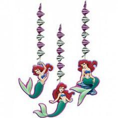 PP Ariel, de kleine zeemeermin feest hangdecoratie