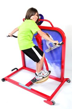 CARDIO KIDS SNOWBOARDERThe Cardio Kids Snowboarder brings the fun of snowboarding to the great indoors! With lateral movements and swivel snowboard base, children can enjoy a cardio session and hardly notice! Kids Gym Equipment, Commercial Fitness Equipment, No Equipment Workout, Kids Electric Guitar, Snowboarding, Skiing, Exercise For Kids, Workout Rooms, Figure Skating