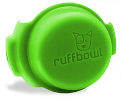RuffBowl is an innovative, and convenient way to always have a travel water bowl and never have to carry poop bags in your hands. The best part is that it clips onto most large retractable leashes.