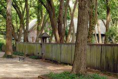 Carol's Garden at West of the Moon Writer's Retreat by Lafayette Wattles, via Behance