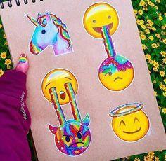 Imagen de emoji, drawing, and unicorn