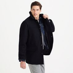 Slim university coat with Thinsulate® : sportcoats & outerwear   J.Crew