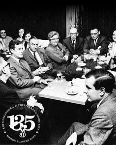 Ondernemersvergadering van de familiebedrijven uit Maastricht in de jaren '60