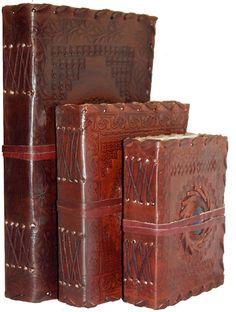 Handmade Leather Sketchbook Scrapbook Diary Journal Notebook - Stone / All Sizes in Home, Furniture & DIY, Stationery & School Equipment, Binders & Notebooks | eBay