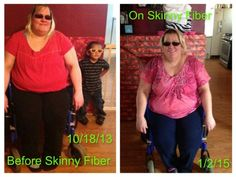 This is Susan's Skinny Fiber weight loss testimonial.   I Started Skinny Fiber October 18 2013 Iam wheelchair bound so its slower for me than others but i do not care the weight is coming off still on Skinny Fiber I have ways to get to my goal but I know for sure one day I will be at my goal thanks to a great product called Skinny Fiber Also Skinny Fiber has not helped me with just my weight it has helped me with all my health issues went from 35 medications to 4 medications now an I feel SO…