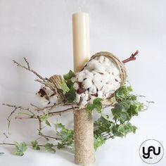Baptism Candle, Pillar Candles, Christening, Flower Arrangements, Candle Holders, Design, Art, Trunks, Art Background