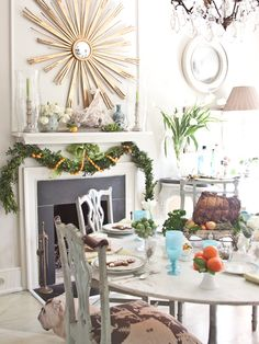 I have been in love with the Christmas decor of Christy Ford, owner of antiques shop And George in...