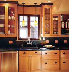 You can use ALL your space! Tall cabinets give a striking affect while becoming usable space.