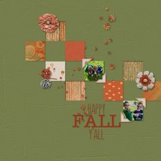 Pumpkin Boogie Page Kit by Mandy King Digital Scrapbook Kit #digiscrap #digitalscrapbooking #memorykeeping #mandyking