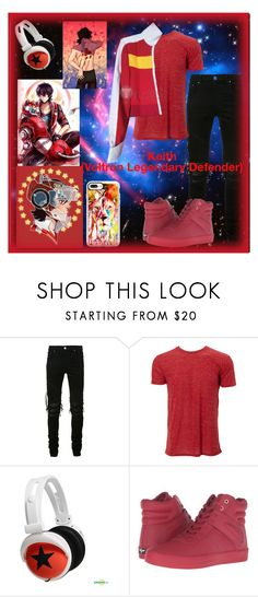 """Keith (Voltron Legendary Defender)"" by ironkyle ❤ liked on Polyvore featuring AMIRI, Simplex Apparel, mix-style, Creative Recreation and Casetify"