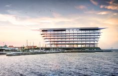 Nuevas oficinas sobre la costa danesa  La afamada firma de arquitectos Foster + Partners comenzó con la construcción de un edificio de oficinas en Copenhague para la empresa farmacéutica Ferring...