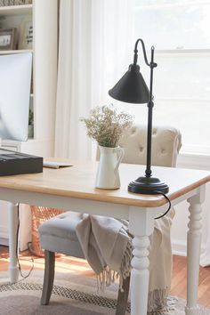 How to Hide Unsightly Electronics and Cords - The Everygirl The Effective Pictures We Offer You About DIY Hacks wohnung A quality picture can tell you many things. You can find the most beautiful pict Hide Cable Box, Hide Cables, Hide Wires, Hiding Cords, Hidden Desk, Hidden Storage, Hide Computer Cords, Table Desk, Dining Table