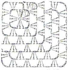 ergahandmade: Crochet Motif + Diagram + Pattern Step By Step