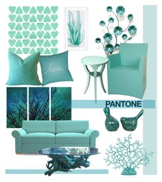 """""""Pantone Color Swatch"""" by j-sharon ❤ liked on Polyvore featuring interior, interiors, interior design, home, home decor, interior decorating, Stratton Home Décor, Joybird Furniture, Surya and Dot & Bo"""