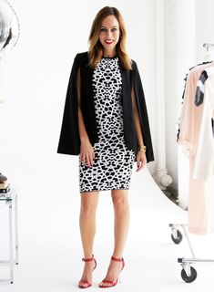 Sydne Style - Los Angeles fashion writer and People Stylewatch contributor Sydne Summer shows how to wear the cape trend.