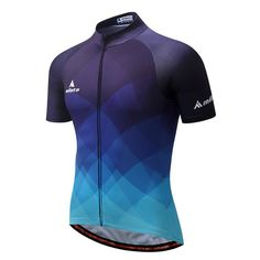 Men s Cycling Jersey Full Zip Bike Shirt - 10 Different Prints c6ce5e664