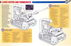 Thunderbirds Laser Cutter and Thunderizer by ArthurTwosheds.deviantart.com on @DeviantArt