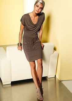 Cowl neck dress from VENUS
