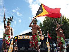 "Conjunto Folklorico Nacional ""Furak Timor"" East Timor"