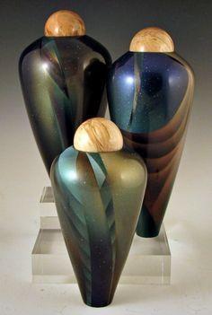 wood turned vessels