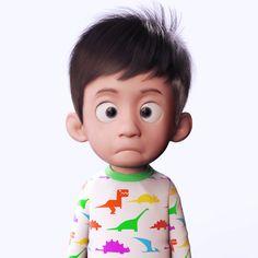 this cute baby boy..hahaha.....