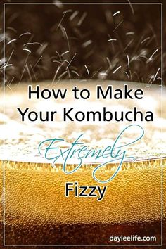 One thing Kombucha brewers tend to agree is that Kombucha should be extremely fizzy. If your Kombucha turns out flat, there are multiple things you need to diagnose first before trying new things. Kombucha Flavors, Kombucha Scoby, How To Brew Kombucha, Kombucha Recipe, Probiotic Drinks, Making Kombucha, Kombucha Drink, Kombucha Benefits, Fermentation Recipes