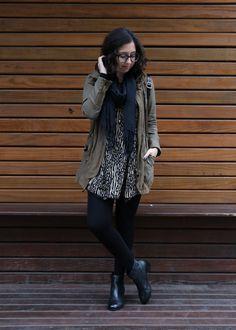 Look do dia - moda, casual, street style, inverno, frio, bota, ankle boot