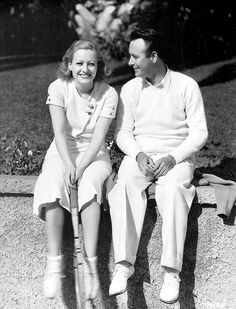 1930 Joan Crawford and her brother