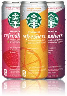 Great new energy drink from Starbucks!
