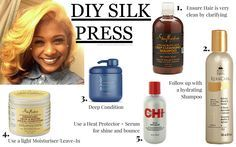 ... Well if like myself you've tried & have yet to achieve that salon finish, then this post may be the beginning of your journey to silk press perfection!