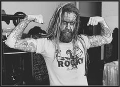 Rob Zombie   frontmen    Pinterest   Rob zombie  Rock and Sheri moon     Rob Zombie