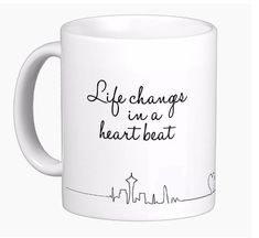 Greys Anatomy Inspired Mug Life Changes in a by SincerelyEunice